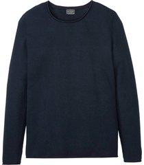 maglione operato slim fit (blu) - rainbow