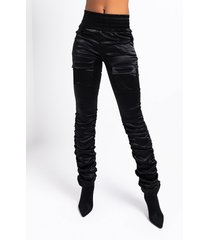 akira new version high waisted stretchy scrunched ankle pants