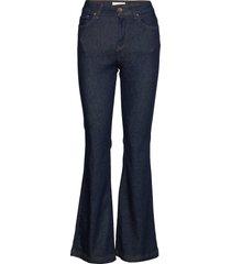 pzliva jeans jeans utsvängda blå pulz jeans