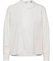 day polite blouse lange mouwen wit day birger et mikkelsen