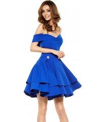 sukienka bardotka