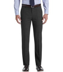 awearness kenneth cole awear-tech charcoal slim fit dress pants