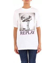 t-shirt korte mouw replay w323322662