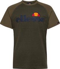 el coper tee t-shirts short-sleeved grön ellesse