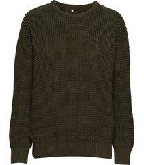 ridley gebreide trui groen brixtol textiles