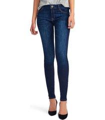 women's dl1961 'danny' instasculpt skinny jeans, size 32 - blue
