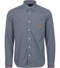 vivienne westwood  striped classic shirt 66071693-0438