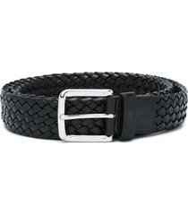 church's woven belt - black