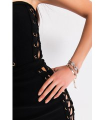 akira pop the cork rhinestone detail bracelet set