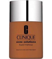 anti-blemish solutions liquid makeup clinique - base liquida ginger