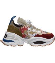 scarpe sneakers uomo in pelle the rolling giant