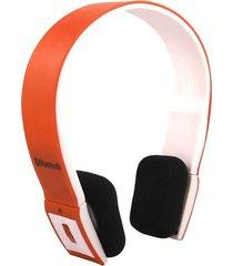 audífonos bluetooth manos libres inalámbricos, bh-23 sin hilos audifonos se divierte el auricular estéreo del auricular para smartphone (anaranjado)