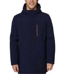 elie tahari men's hooded commuter jacket