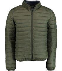 bos bright blue blue jaff puff jacket 19301ja06sb/368 olive groen