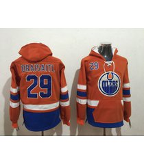 edmonton oilers no. 29 leon draisaitl hockey hoodie jersey