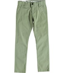 name it twill chino oil green