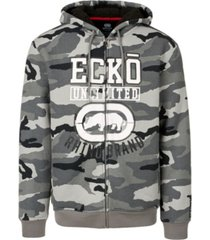 ecko unltd men's rhino brand full zip thermal sherpa hoodie