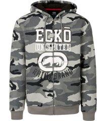 ecko unltd men's rhino brand full zip thermal sherpa hoodie
