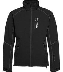 race softshell m outerwear sport jackets svart tenson