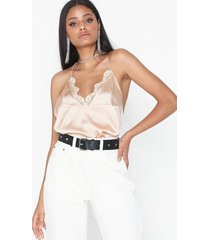nly trend negligee top linnen