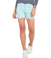 jamie high-rise denim shorts