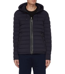 'mike' hooded down jacket
