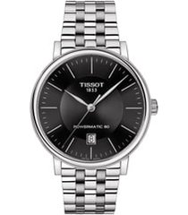 tissot t-classic carson powermatic bracelet watch, 40mm