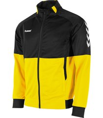 hummel authentic poly full zip jacket zwart