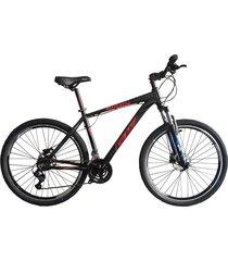 bicicletas todo terreno gw alligator  rin 29 shimano 7v tipo moto suspe disco negro