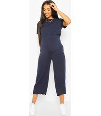 positie-broekrok-jumpsuit om borstvoeding te geven, marineblauw