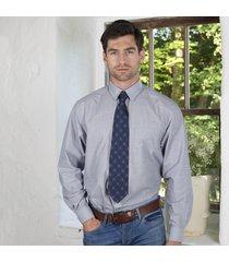 navy celtic knot silk tie