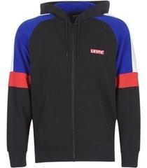 sweater levis pieced fullzip hoodie
