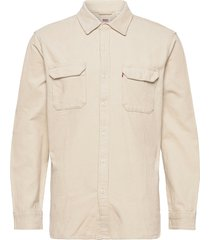 jackson worker almond milk overhemd casual crème levi´s men