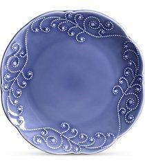 conjunto de  pratos cerâmica rasos charmonix 6pcs cj6 - kanui
