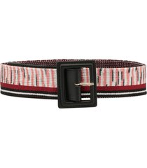 missoni geometric belt