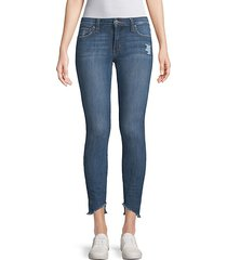icon blondie hem ankle jeans