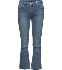 janelle 833 raw light st blue, jeans skinny jeans blå 2nd