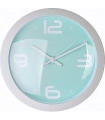 zegar okrągły retro mint