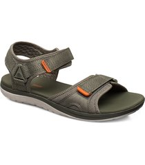 step beat sun shoes summer shoes sandals grön clarks