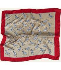 pañuelo beige nuevas historias cebras ba1427-1914