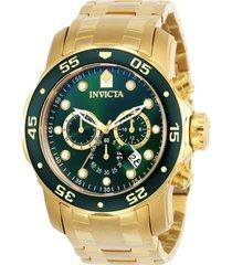reloj invicta 0075 oro acero inoxidable