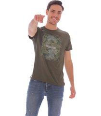camiseta estampada para hombre x59143