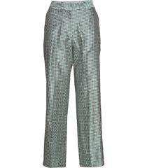 efe long pants 10657 pantalon met rechte pijpen blauw samsøe & samsøe