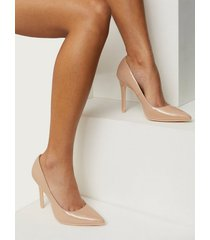 nly shoes slim pump pumps beige