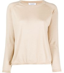 snobby sheep raglan-sleeves pullover - neutrals
