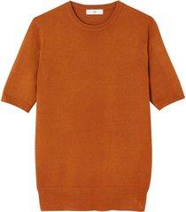 tröja med kort ärm