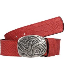 cinturon anaconda rojo zappa