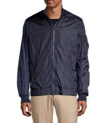 bogner men's jacob stand-collar jacket - navy - size 40