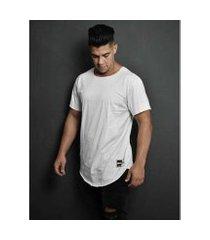camiseta masculina - longline