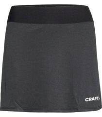 squad skirt w kort kjol svart craft